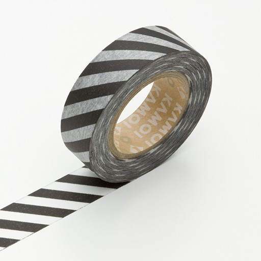 Washi Tape / MT Tape Monochrome Stripe