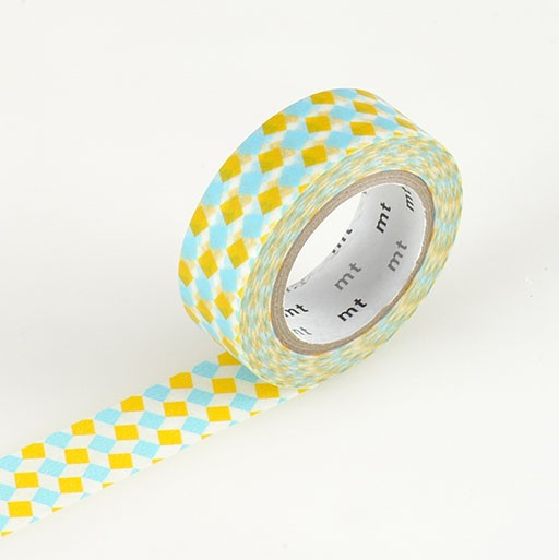 Washi Tape / MT Tape Square Yellow