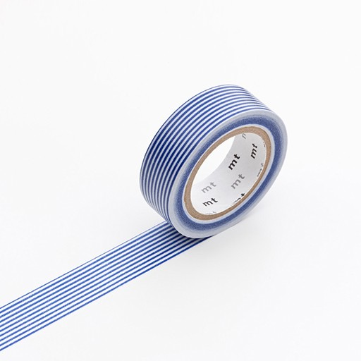 Washi Tape / MT Tape Border Blue