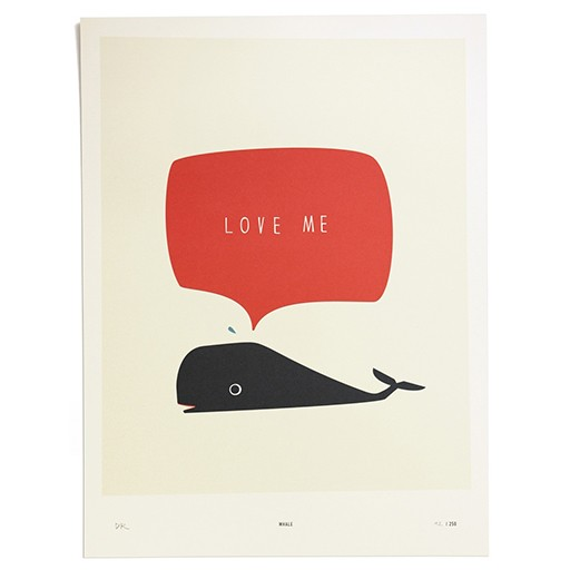 PTM Poster Whale