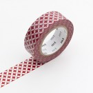Washi Tape / MT Tape Shippou Beni