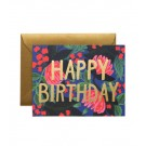 Rifle Paper Floral Foil Birthday