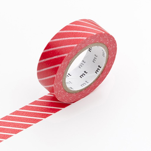 Washi Tape / MT Tape Stripe Red