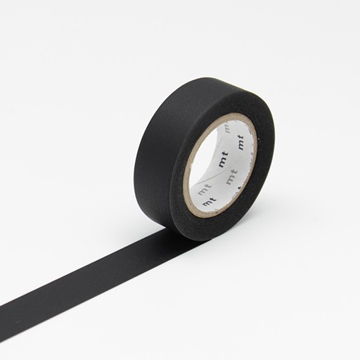 Washi Tape / MT Matte Black
