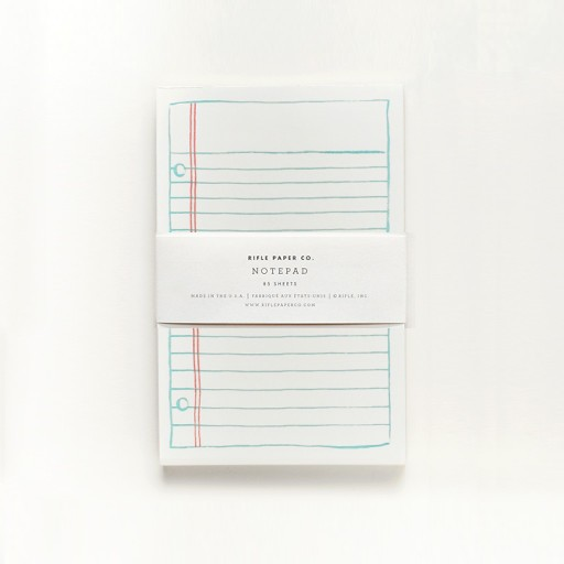 RP Lined Paper Notepad