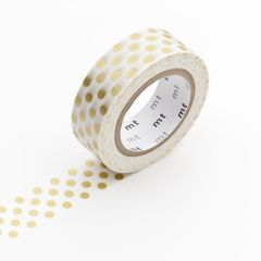 Washi Tape / MT Tape Dot Gold