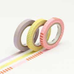 Washi Tape / MT Tape Slim Deco A