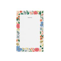 Rifle Paper Memo Notepad - Wild rose