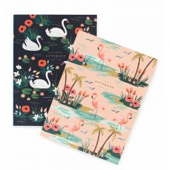 Rifle Paper Birds of a Feather Notebooks