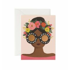 Rifle Paper Flower Crown Birthday Girl