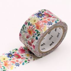 Washi Tape / MT Tape Bluebellgray Zinnia