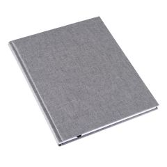 Bookbinders Notebook A4 - Record light grey