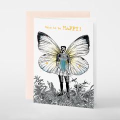 Pabuku Queer Paperie Born To Be Happy!