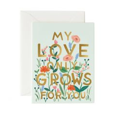 Rifle Paper My Love Only Grows For You